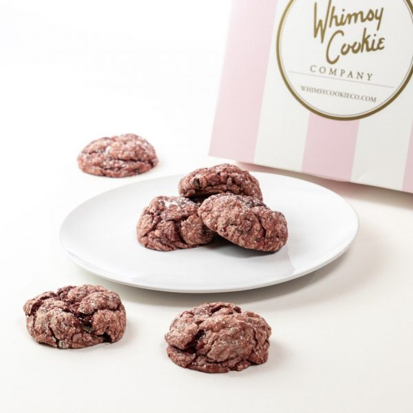 Add a batch of Red Velvet Gooey Butter cookies to your order