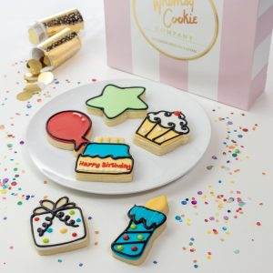 Add a set of It's Your Birthday themed cookies to your order