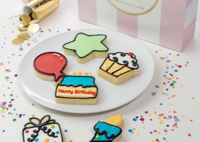 Custom Kid's Birthday Cookies