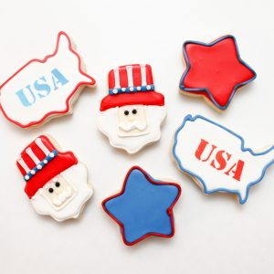 4th of July Cookie Set