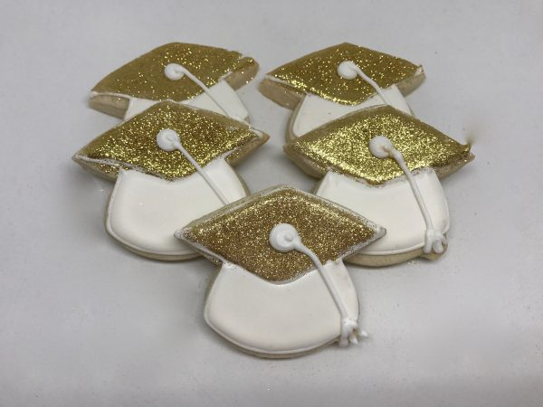 Gold Grad Caps