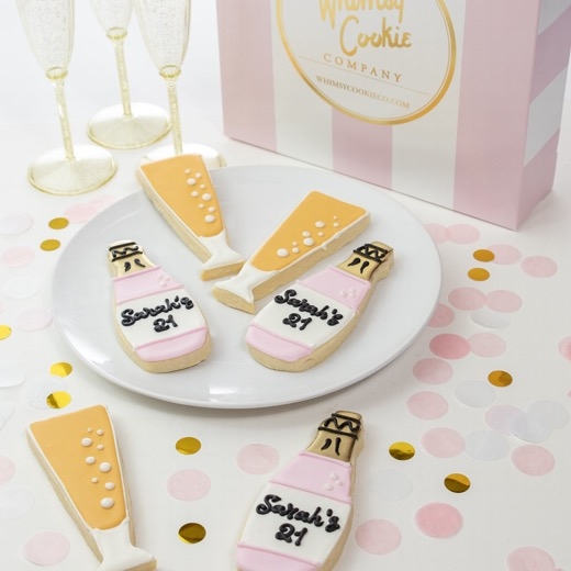 Add a set of Let's Celebrate themed cookies to your order