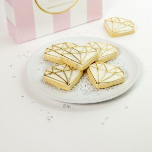 Add a set of Bridal Diamond cookies to your order