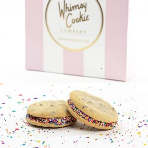 Add a set of our delicious Buttercream Sandwich cookies to your order
