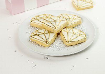 Custom Bridal Cookies