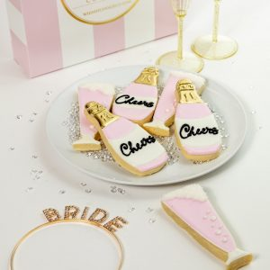 Add a set of Cheers themed cookies to your order