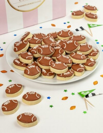 Add these Football Bites cookies to your order
