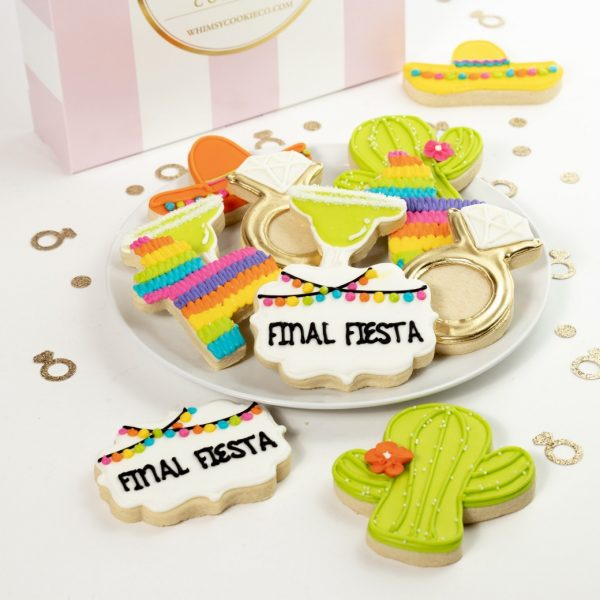 Add a set of Final Fiesta themed cookies to your order