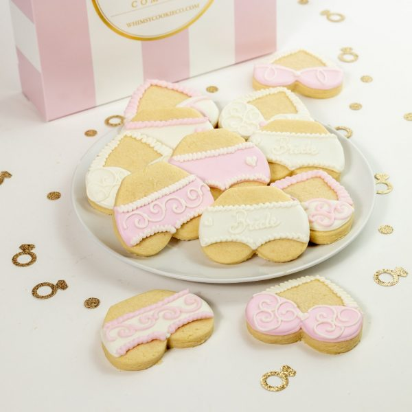 Add a set of For the Bride themed cookies to your order