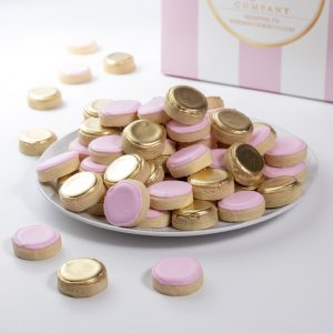 Add a set of our iconic Pink and Gold Whimsy Bites to your order