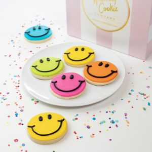 Add a set of our iconic Whimsy Smile cookies to your order