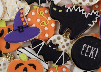 Custom Halloween Cookies