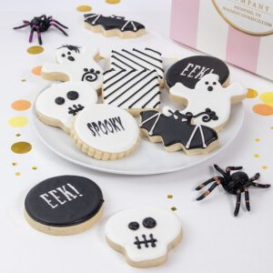 Add a set of these spooky Black and White cookies to your order