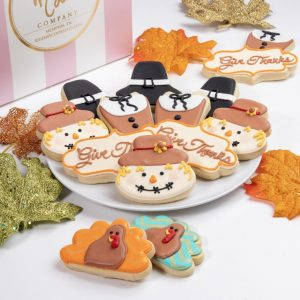 Add a set of these Give Thanks cookies to your order