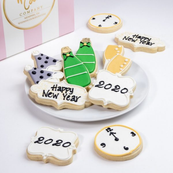 Add our Let's Celebrate themed cookie set to your order