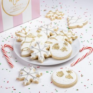 Add some of our gorgeous Silver & Gold cookies to your order