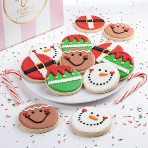 Add a set of our festive Jolly cookies to your order