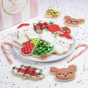 Add a set of our festive Whimsical Holiday cookies to your order