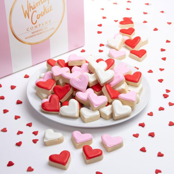 Our Whimsy Bites are one of our most popular cookies and will make a great addition to any event! Packaged 12 to a bag and made with our incredible sugar cookie recipe, thick soft and yummy!! Shipped in our signature pink and white box.