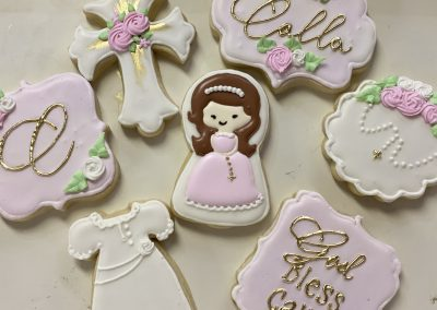 Custom Christening/Baptism Cookies