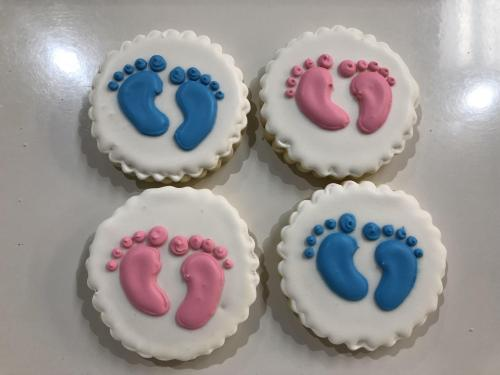 Gender Reveal Baby Feet