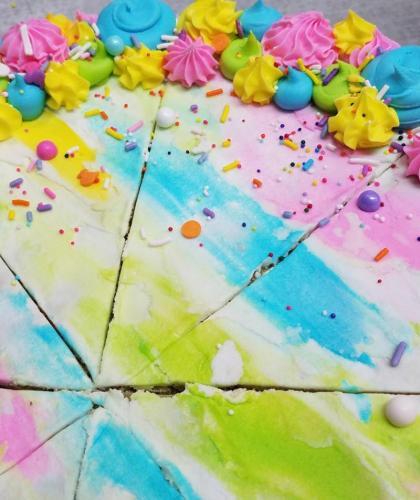 Rainbow Watercolors