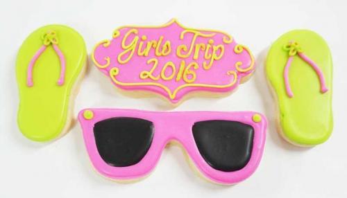 Sunglasses & Flip Flops