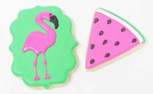 Flamingo & Watermelon